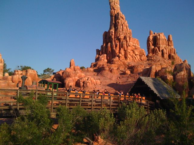 "Big Thunder Mountain Railway--""The Wildest Ride in the Wilderness!"" Photo by J. Jeff Kober."