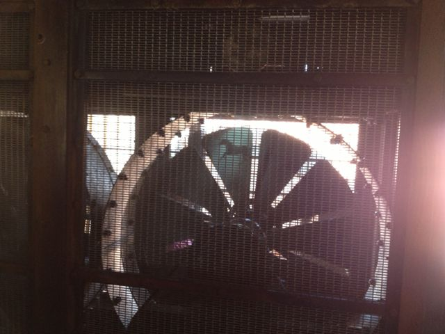 Look at the top of the wheel and you can see a horse galloping along. Photo by J. Jeff Kober.