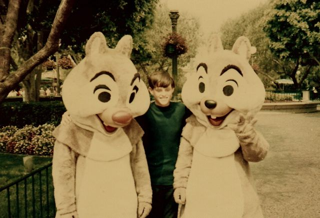 Me with Chip Dale