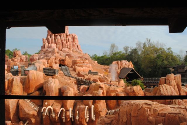 Explosions at Big Thunder Mountain--and you're responsible for them! Photo by J. Jeff Kober.