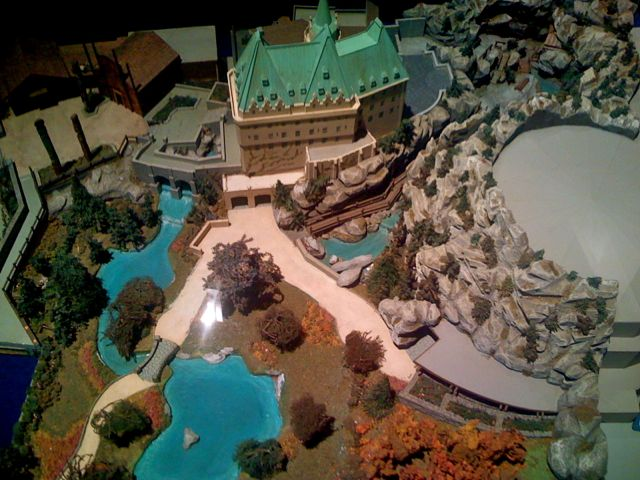 Canada in model form at a later stage of development.
