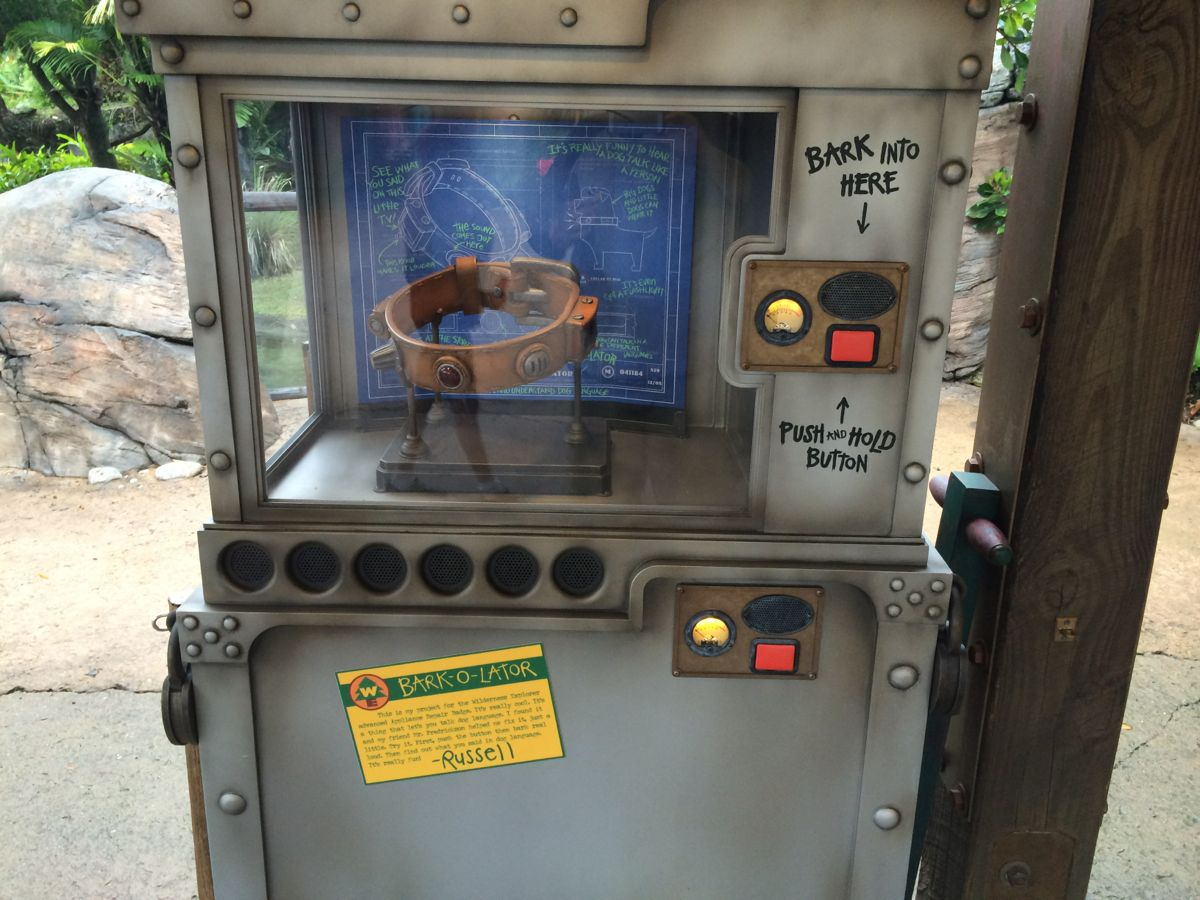 The new Bark-O-Lator is just a part of the new MyMagic+ offerings coming to Guests. Photo by J. Jeff Kober.