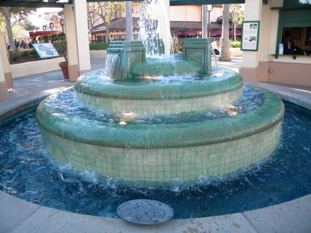 Few know the true tragic story represented by this fountain at the corner of Hollywood and Sunset boulevards. Photo by J. Jeff Kober.