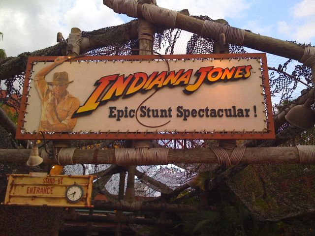 The Indiana Jones Epic Stunt Spectacular! Photo by J. Jeff Kober.