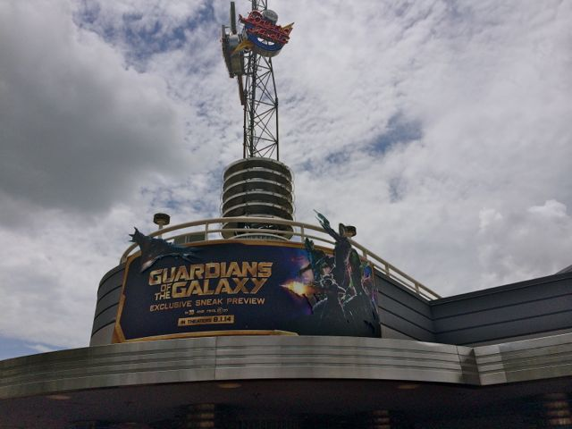 Marvel has finally arrived at a Walt Disney World theme park. Photo by J. Jeff Kober.