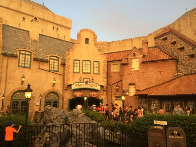 Maelstrom in Norway at Epcot. Photo by J. Jeff Kober.
