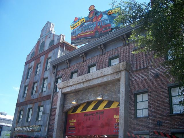 Entrance to the Studio Backlot Tour. The original entrance was where The Magic of Disney Animation currently is. Photo by J. Jeff Kober.