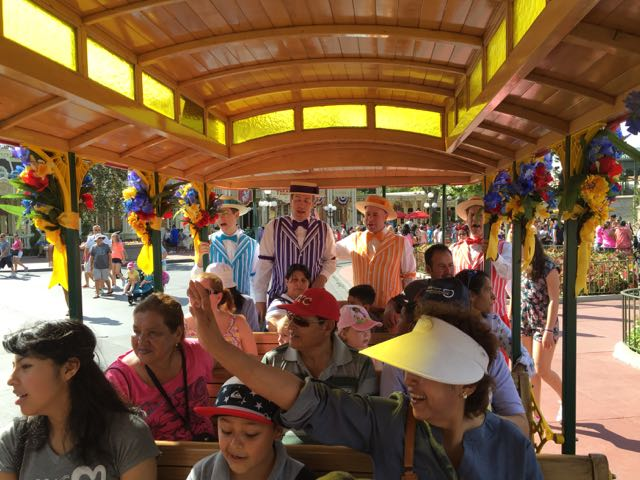 The journey down Main Street U.S.A. is made more harmonious by the Dapper Dans. Photo by J. Jeff Kober.