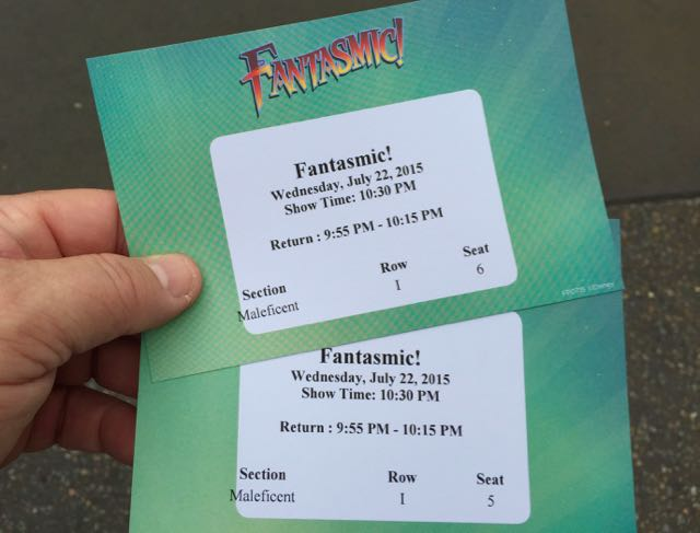 The Fantastic! Pass includes a designated section, row and seat with your ticket. Photo by J. Jeff Kober.