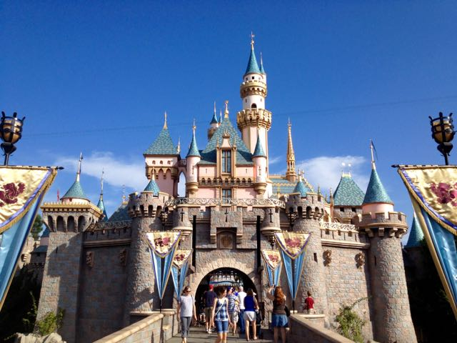 Sleeping Beauty Castle at Disneyland. Photo by J. Jeff Kober.