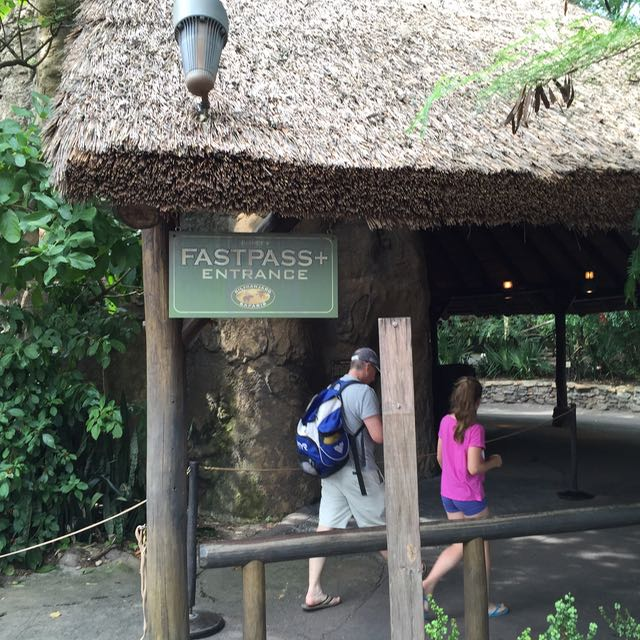 FastPass+ return entrance. Photo by J. Jeff Kober.