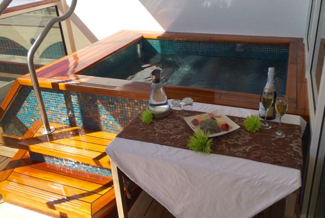 A private cabana at Senses Spa and Salon. Photo by J. Jeff Kober.