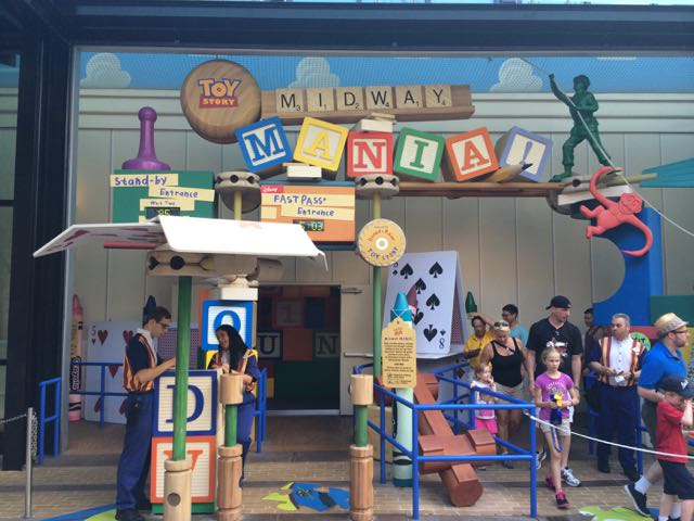 This entrance will go away once Toy Story Playland opens, as guests will enter from the other side of the building. What becomes of this street with its Toy Story theme is uncertain. Photo by J. Jeff Kober.