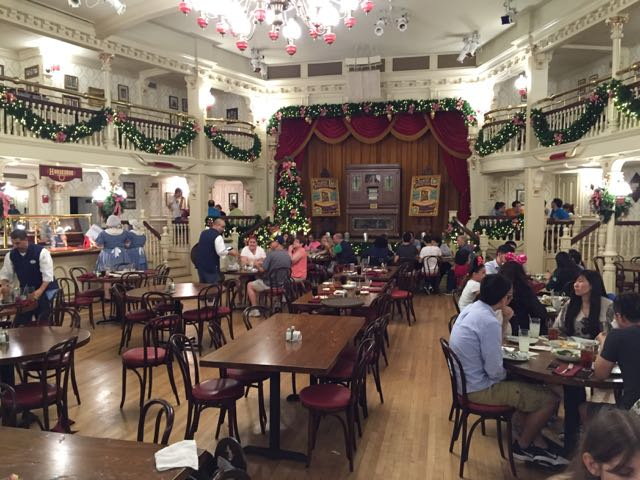 Imagine the demand to see a show and do a meal at the Diamond Horseshoe. Photo by J. Jeff Kober.