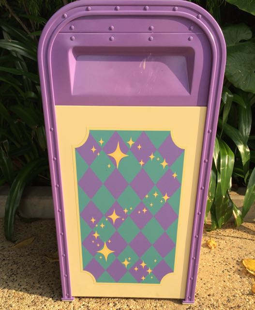 Here is the trash receptacle for Fantasyland. Photo by J. Jeff Kober.