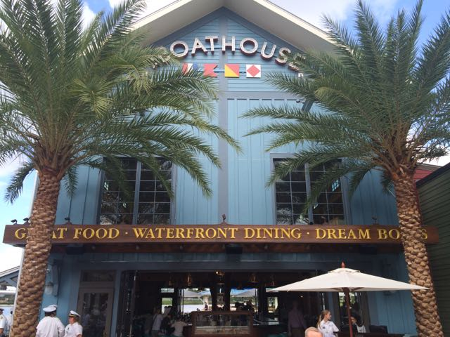 The Boathouse is a terrific upscale, but casual restaurant. Photo by J. Jeff Kober.