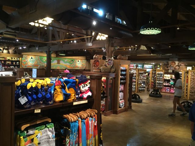 The expansion of Disney Outfitters has made this set of shops into an Emporium size location. Photo by J. Jeff Kober.