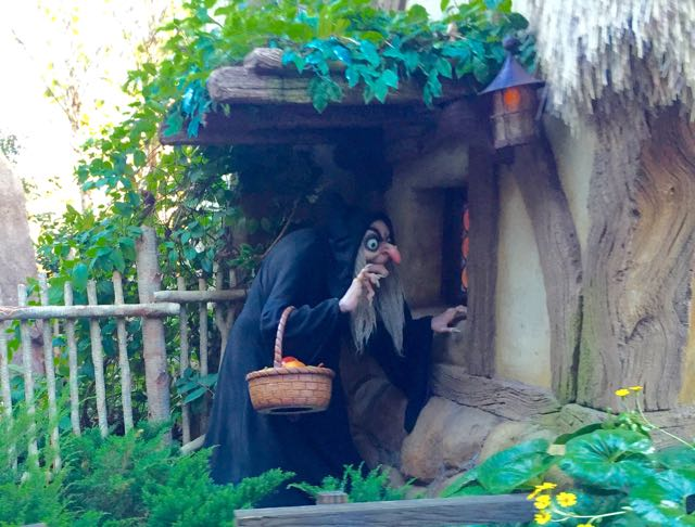 Is management looking in on what you do? Does it feel something like what this image portrays? From Seven Dwarfs Mine Train. Photo by J. Jeff Kober.