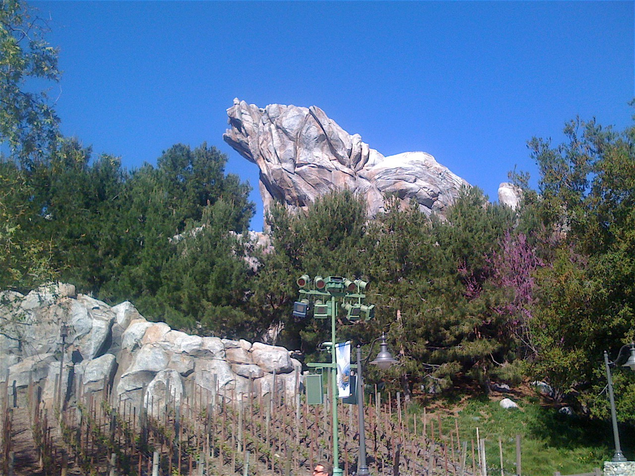 Grizzly Mountain is one DCA icon that has remained solid over the years. Photo by J. Jeff Kober.
