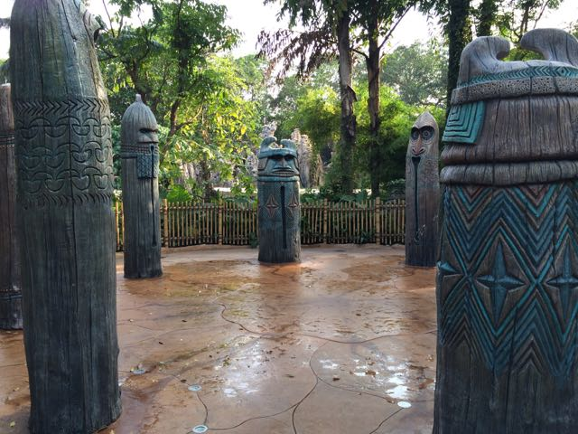 Liki Tikis-this is not an attraction--much less a ride! Photo by J. Jeff Kober.