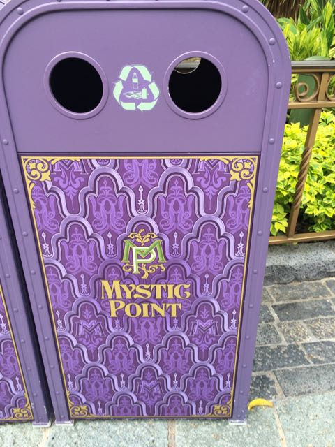 But receptacles at Mystic Point are quite elaborate. Photo by J. Jeff Kober.