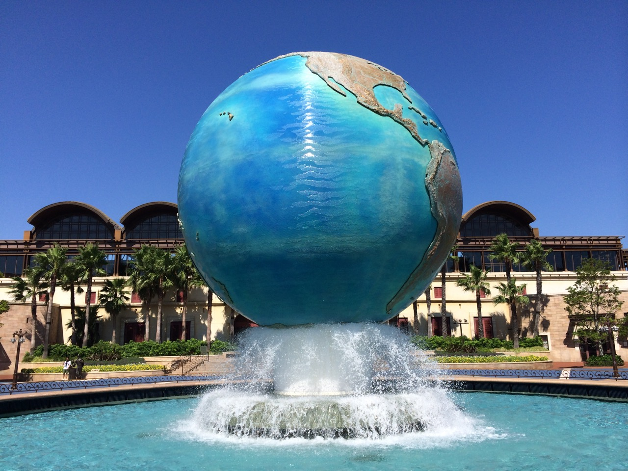 The AquaSphere. Photo by J. Jeff Kober.