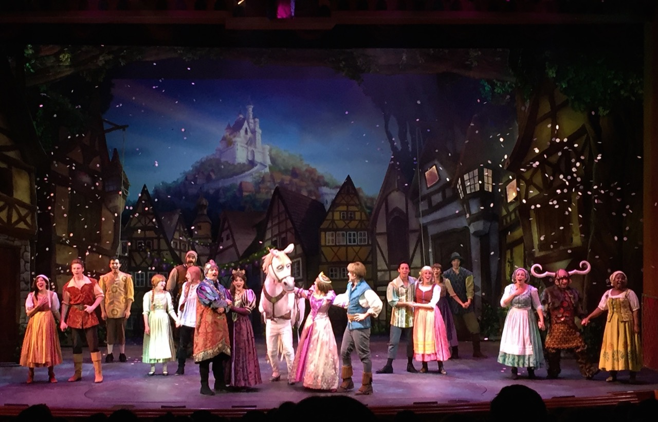 Tangled: The Musical. Photo by J. Jeff Kober.