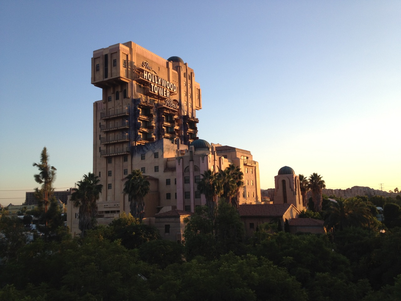 Twilight perfectly captures the Twilight Zone Tower of Terror. Photo by J. Jeff Kober.