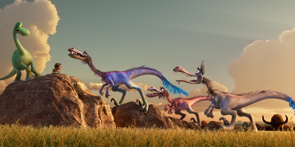 Pixar's The Good Dinosaur.