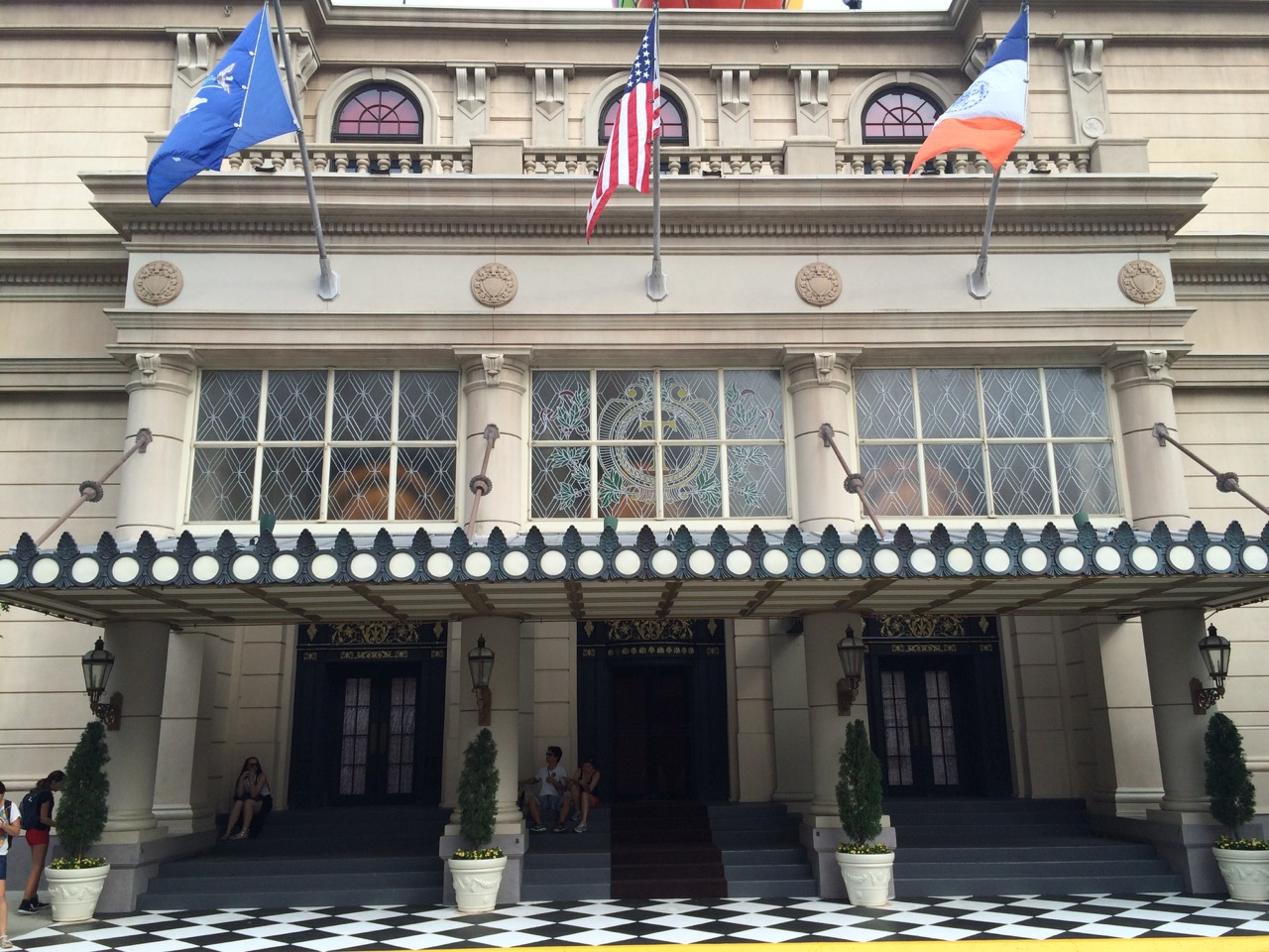 The Plaza Hotel on the Streets of America backlot. Photo by J. Jeff Kober