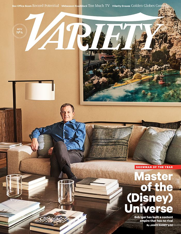Bob Iger on the cover of Variety.