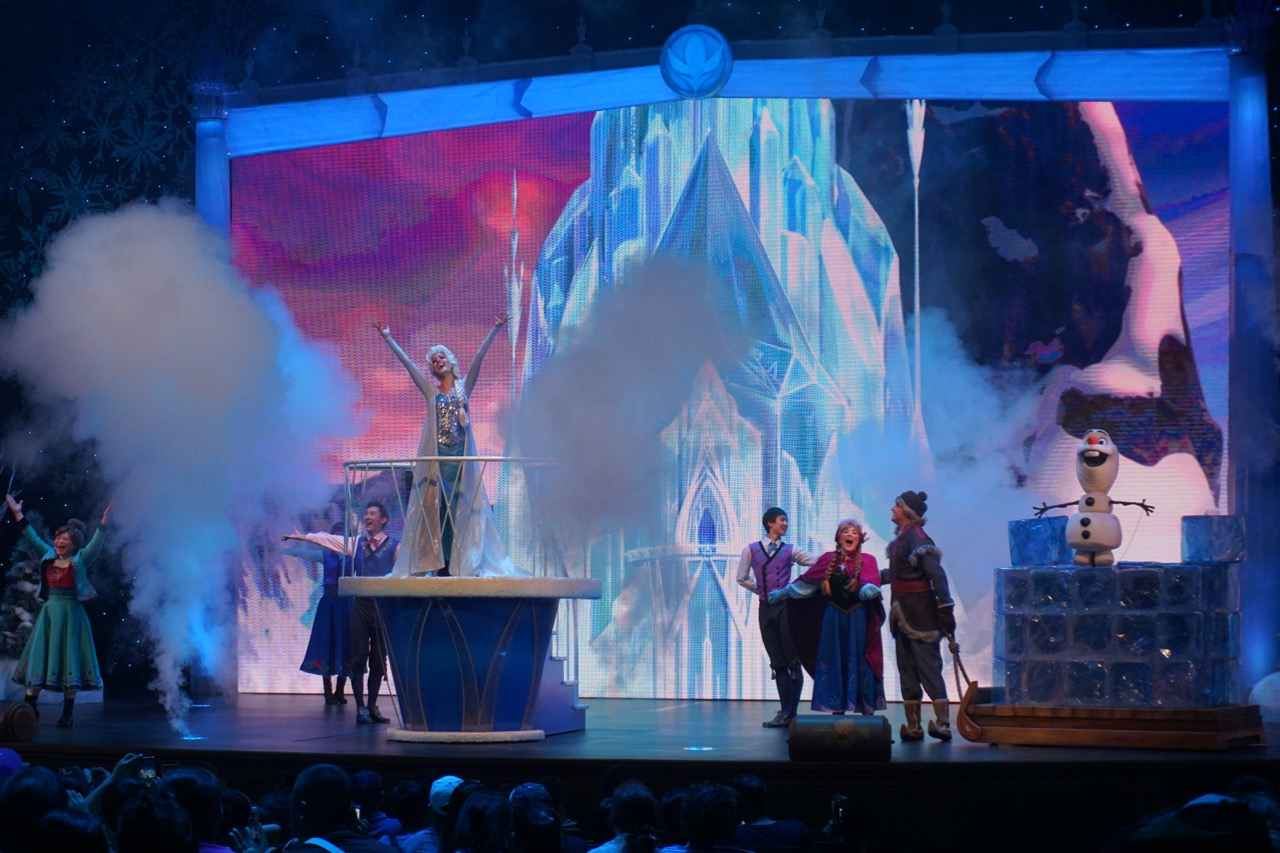 Frozen is cute, but it's like the sing-along shows in the states. If you love it, then include it.