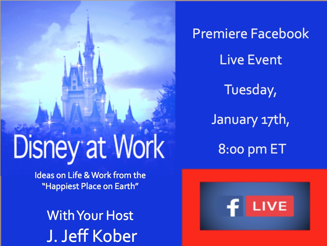 Disney at Work Facebook Live