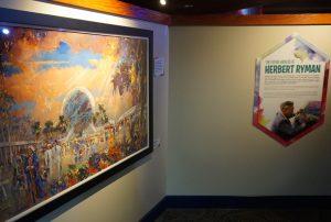 Herb Ryman Exhibit at Odyssey during the Epcot International Festival of the Arts. Photo by J. Jeff Kober.
