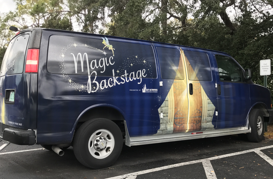 Magic Backstage Van. Photo by J. Jeff Kober.