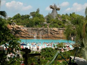 Surfs up at Disney's Typhoon Lagoon. But what swells lies ahead? Photo by J. Jeff Kober.