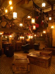 Makeovers await all scallywags who visit The Pirate's League. Photo by J. Jeff Kober.